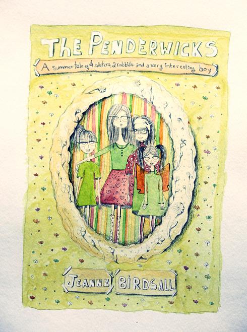 Children's book illustration: The Penderwicks |