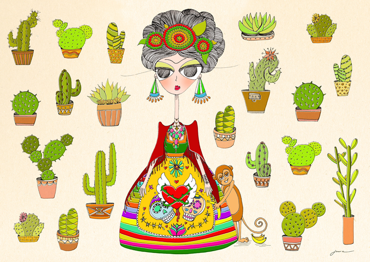 Frida Kahlo_by Joana